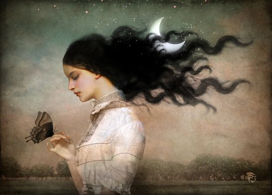 Poster | SHE LIKES THE NIGHT von Christian Schloe | more posters at http://moreposter.de