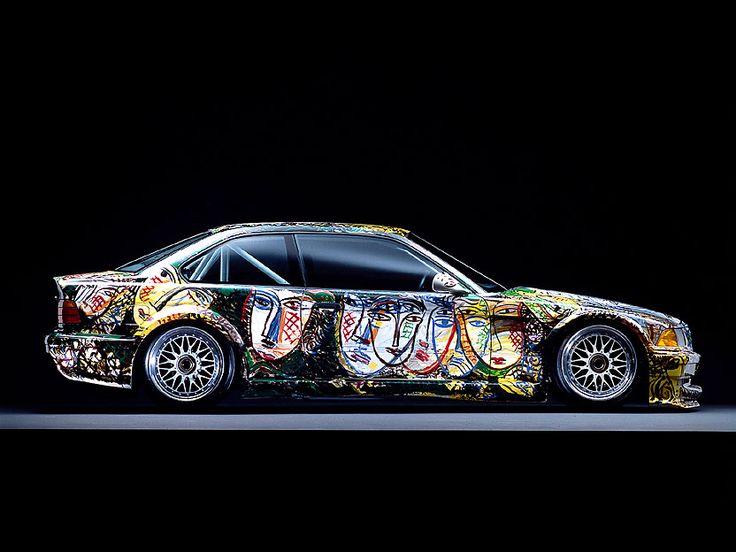 Sandro Chia - BMW Art Car - M3 GTR - 1992