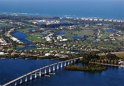 Vero Beach, Florida  I used to live there. The weather was great all year round. I hate Iowa winters. lol