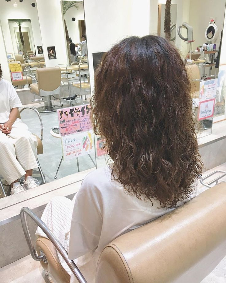 Hair◇@lesalon_kawamura  #カット #パーマ #くるくる #スパイラル #…