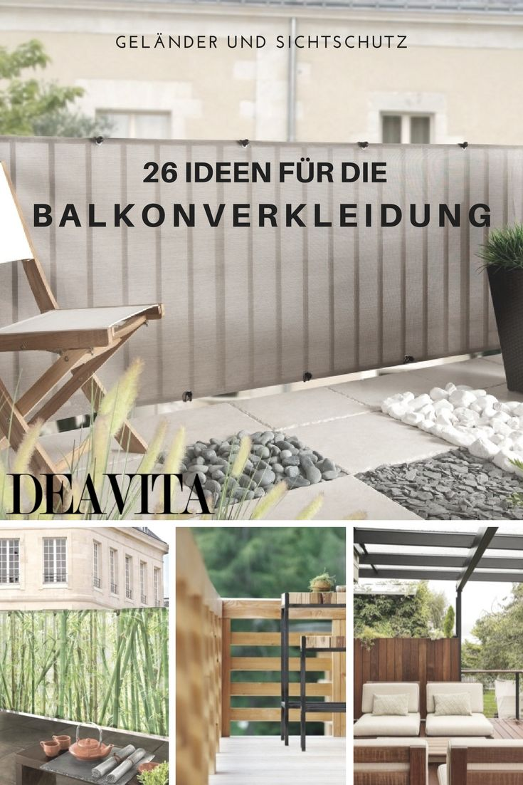 25+ best ideas about balkonverkleidung holz on pinterest, Gartengerate ideen