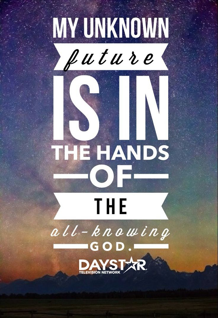 my future hands Sometimes the future can feel scary especially when life drastically changes in an instant and suddenly it doesn't look the same as it once did but god doesn't want us to live in the fear of the unknown.