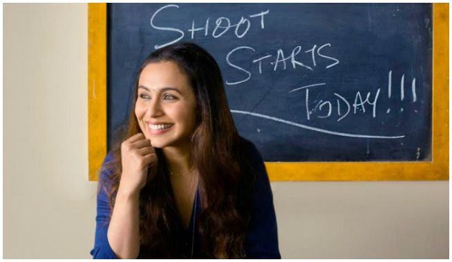 rani mukerji, Hichki, # Hichki, rani mukerji Hichki, Adira, YRF, mangobollywood, bollywood latest news, rani mukerji kick starts sooting for her comeback film Hichki, rani mukerji begins shooting for Hichki, rani mukerji shoot begins, hichki shoot, hichki shoot begins, rani mukerji comeback film, Yash Raj Films, Hichki hindi movie, Hichki rani mukerji