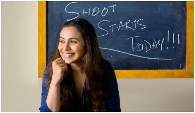 rani mukerji, Hichki, # Hichki, rani mukerji Hichki, Adira, YRF, mangobollywood, bollywood latest news, rani mukerji kick starts sooting for her comeback film Hichki, rani mukerji begins shooting for Hichki, rani mukerji shoot begins, hichki shoot, hichki shoot begins, rani mukerji comeback film, Yash Raj Films, Hichki hindi movie, Hichki rani mukerji