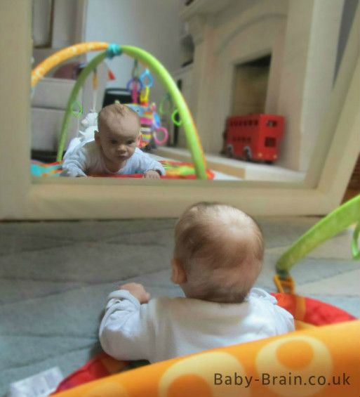 Mirror play with baby: What why and how to play with newborn and 0-3 months