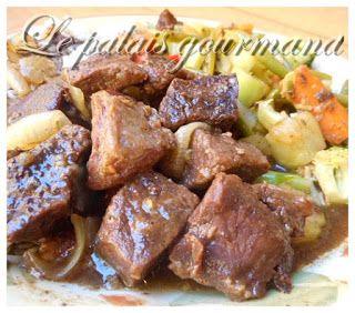 Mijoté de boeuf ou porc à la chinoise, mijoteuse ou four