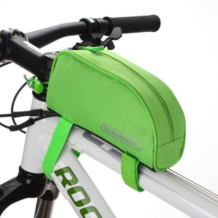 EA14 Roswheel Bicycle Cycling Bike Frame Front Top Tube Bag Outdoor Pouch Bicycle Bags
