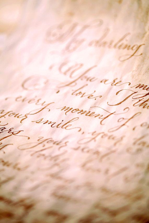 Letters were the most precious treasure in these times of holy war, keeping the most sacred and beautiful words and feelings on the paper...