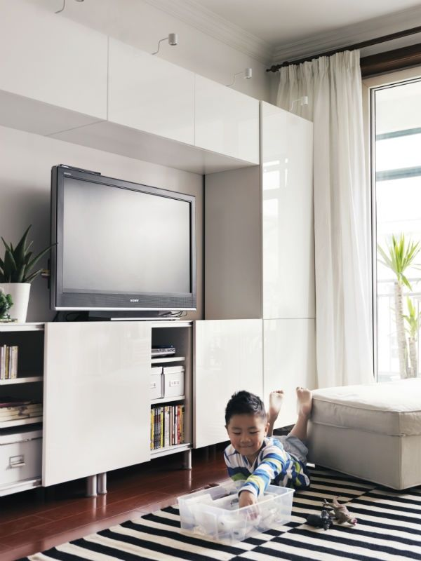 15 best ikea besta images on pinterest ikea ideas for Tv solutions for living room
