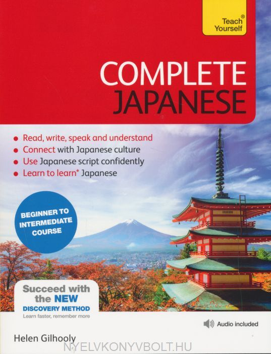 Teach Yourself - Complete Japanese Beginner to Intermediate Course with Fee Audio Download | Nyelvkönyv forgalmazás - Nyelvkönyvbolt