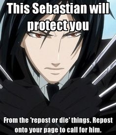 I have some black Butler memes for you! #random Random #amreading ...