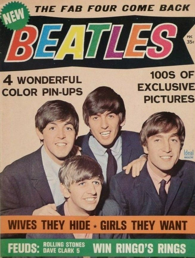 Magazine Cover Assignment 13 The Beatles In The 60s 70s In