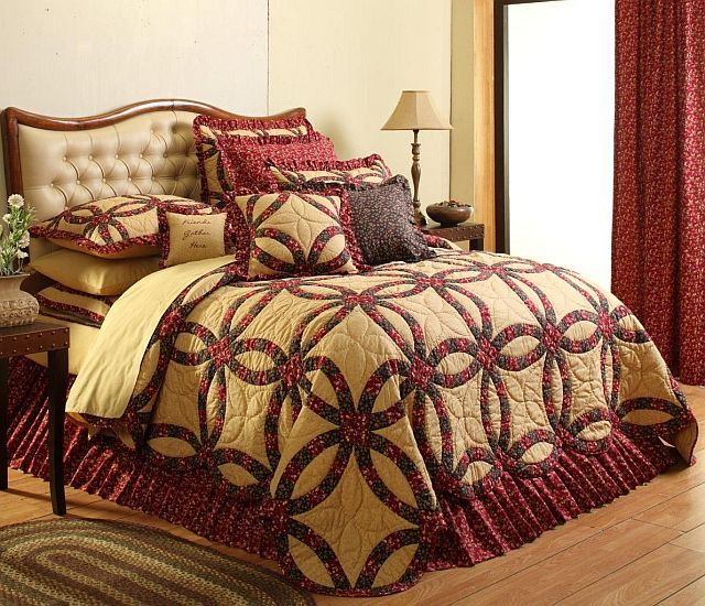 14 best Bedding images on Pinterest | 3/4 beds, Bedroom and Black ... : king size country quilts - Adamdwight.com