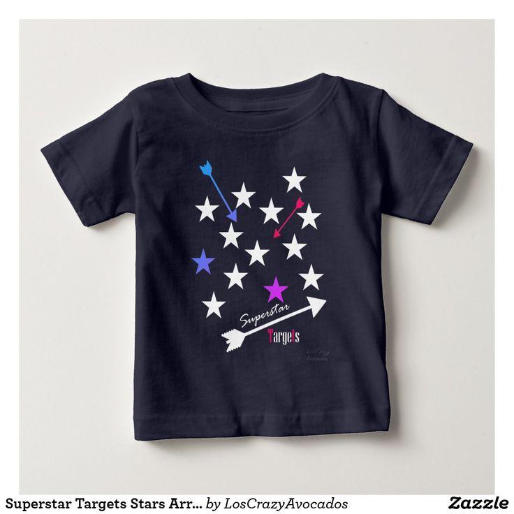 Superstar Targets Stars Arrows Funky T-Shirt
