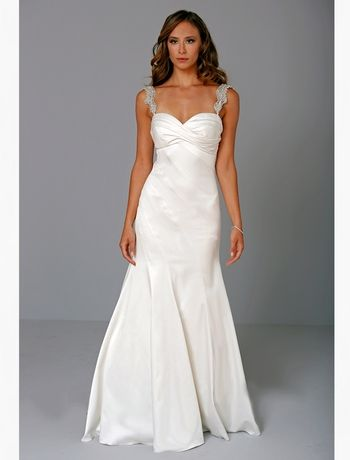 Pnina Tornai - Sweetheart A-Line Gown in Satin