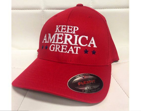 a7c131270 Keep America Great Hat, FlexFit Keep America Great Hats, Fitted ...