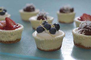 PHILADELPHIA Mini Cheesecakes Recipe - Kraft Canada