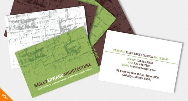 39 best architect business cards images on pinterest for Marketing for architects and designers