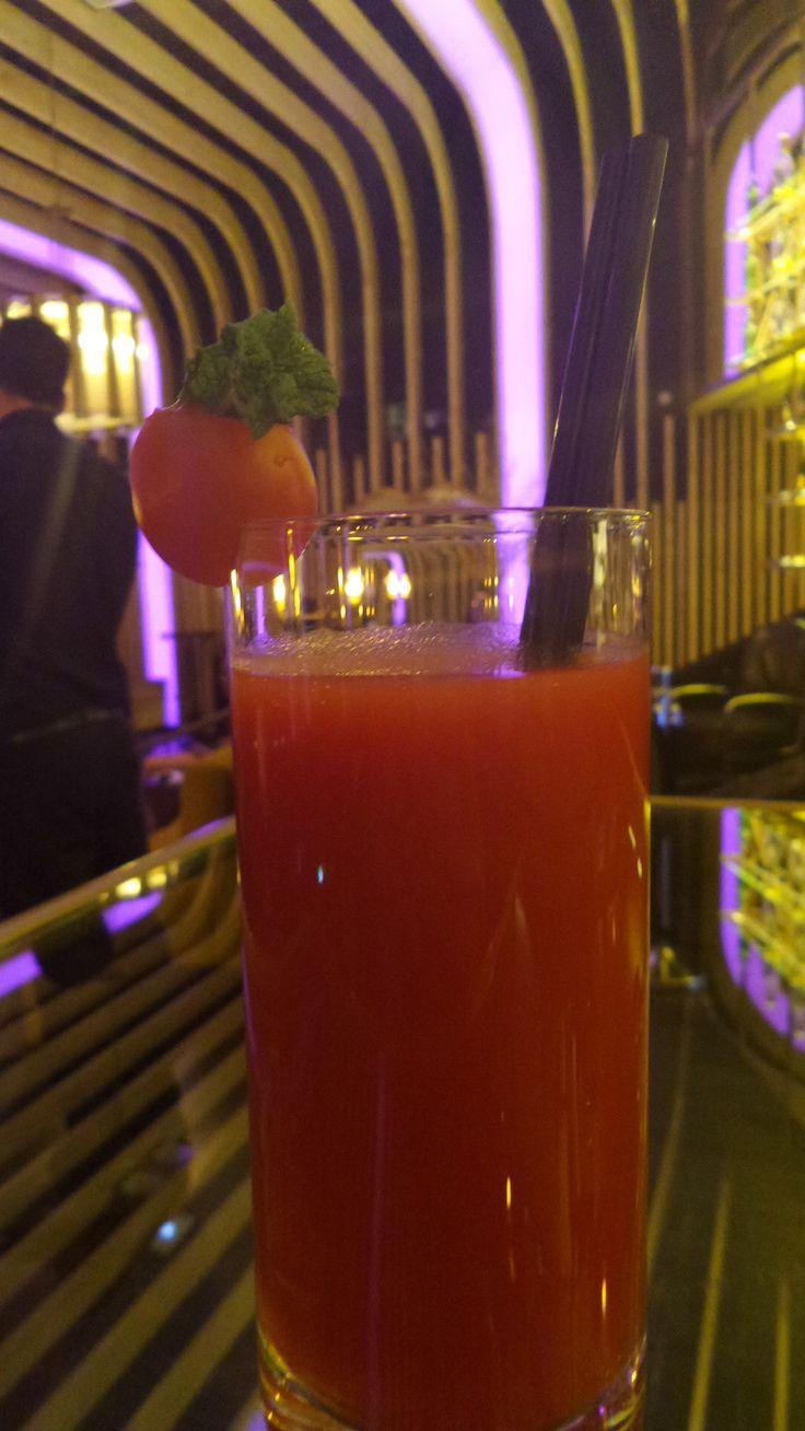 Bloody Mary, otro de los clásicos que puedes degustar en El Palco de Platea Madrid.