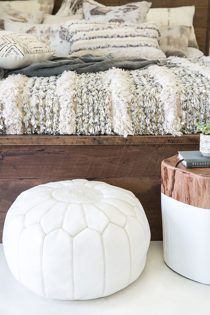 Diy pouf ottoman - Give Your Room A Dash Of Style With The Moroccan Pouf Ottoman It Is Available