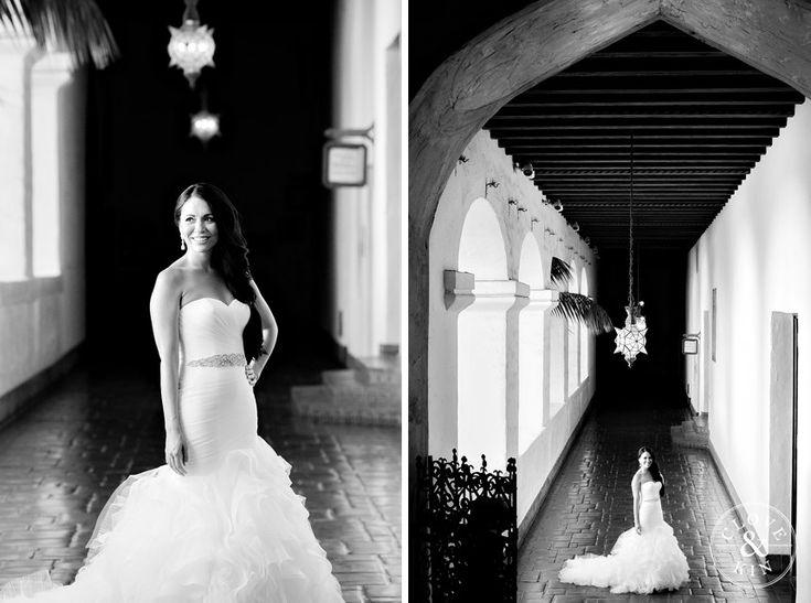 Santa Barbara Courthouse Wedding   Stephanie and Amir, military wedding, pronovias, Marine Corps, clove & kin