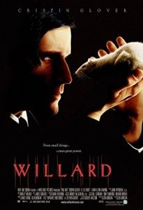 I love Crispin Glover and he was awesome in the movie Willard!