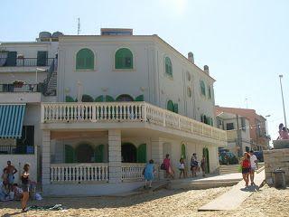 La casa di Montalbano a punta secca