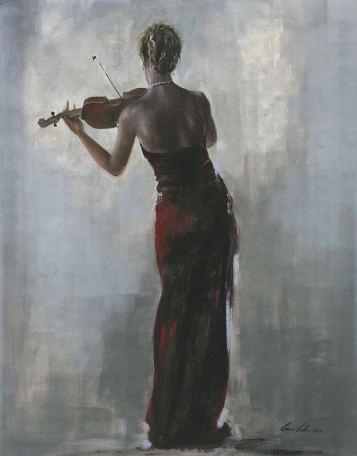 Gavin Collins oil on canvas