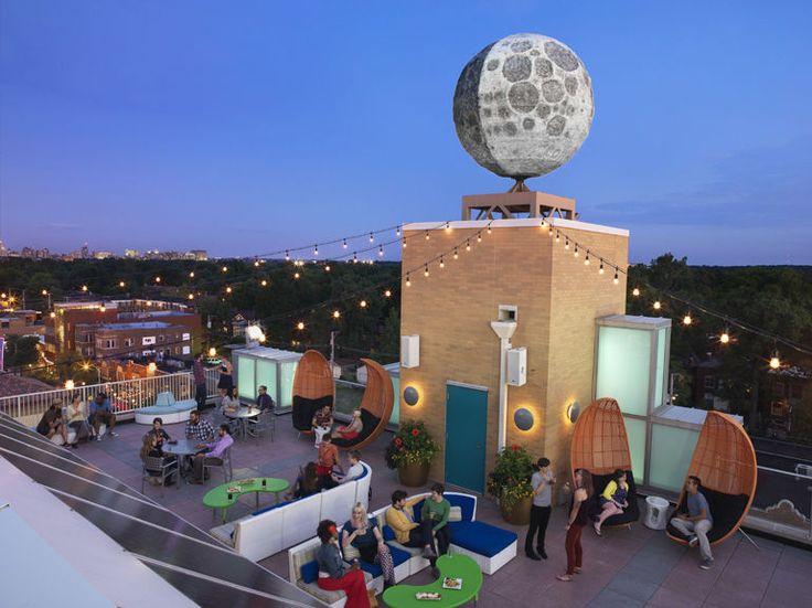 Moonrise Hotel Rooftop Patio