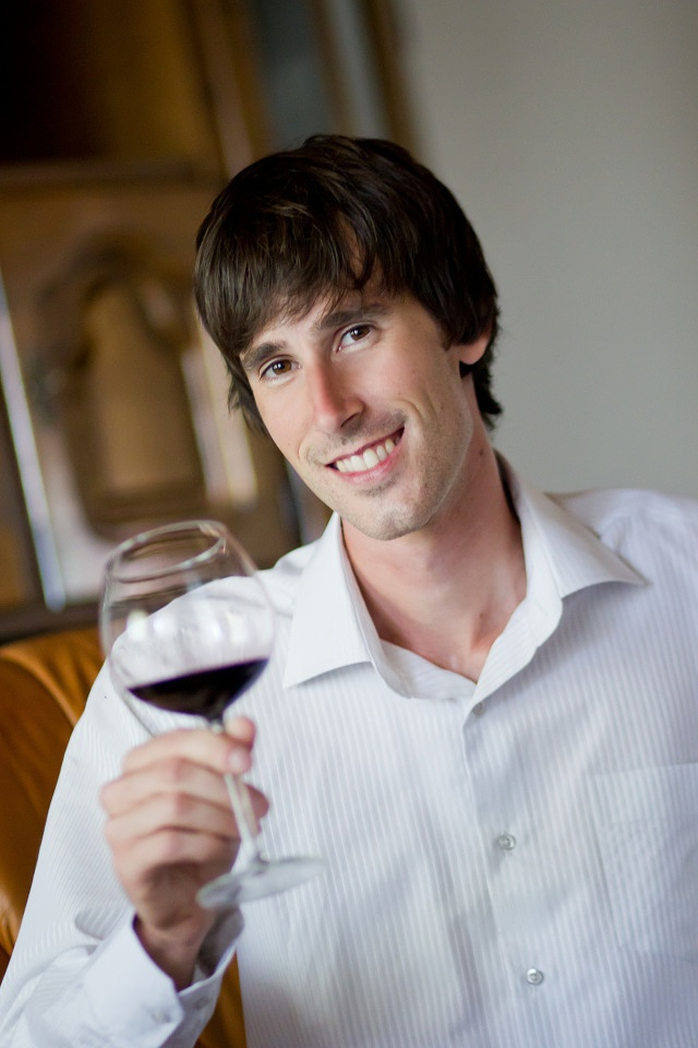 Tomas Strelinger, the winemaker