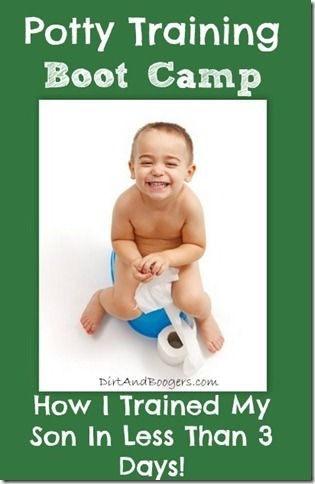 Potty Training Boot Camp. How I trained my son in less than 3 days.