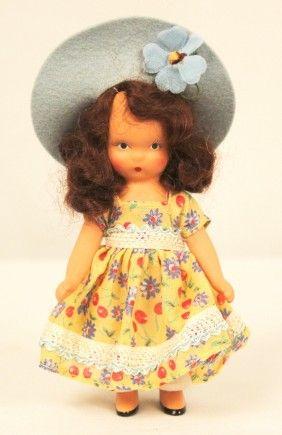 I love these little dolls :)  Nancy Ann Storybook dolls
