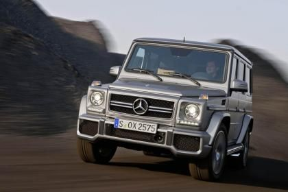 Mercedes Announces Prices for New G-Class car finance customers
