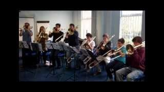 National Youth Orchestra of Great Britain  2012 trombones show their skills. Scales: boring? Think again!