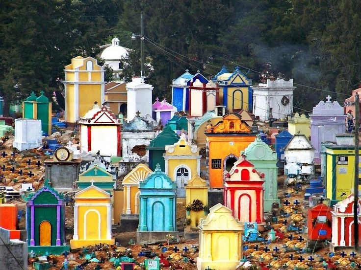 The Colourful Cemeteries of Guatemala