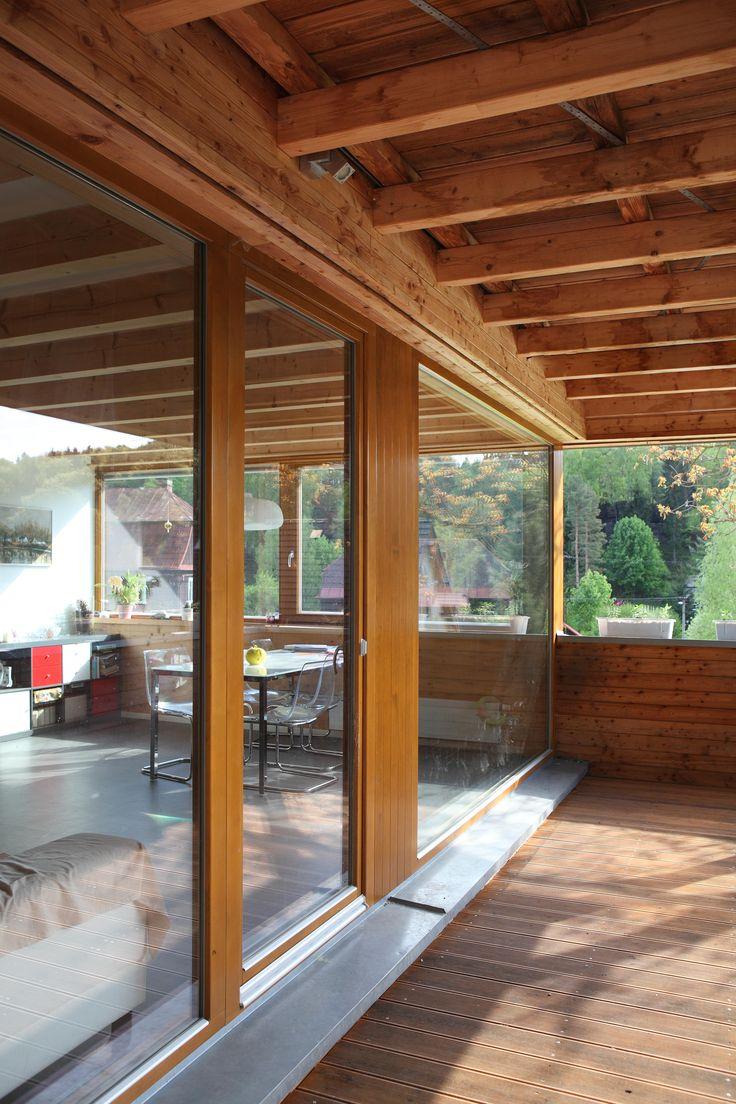 Moderní dřevostavba Prysk