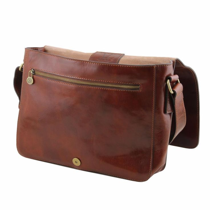 Sac Besace Vintage Cuir Homme -Tuscany Leather-