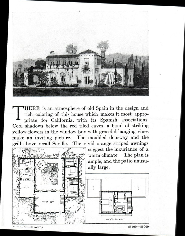 107 best spanish colonial mission revival homes images on for Spanish colonial floor plans