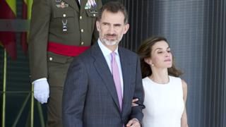 Spains King Felipe and Queen Leitizia begin UK state visit  BBC News