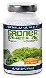GloryFeel Grüner Kaffee Extrakt plus Grüner Tee und Guarana | 120 Vegane Kapseln für Männer und Frauen | Premiumqualität Deutscher Herstellung