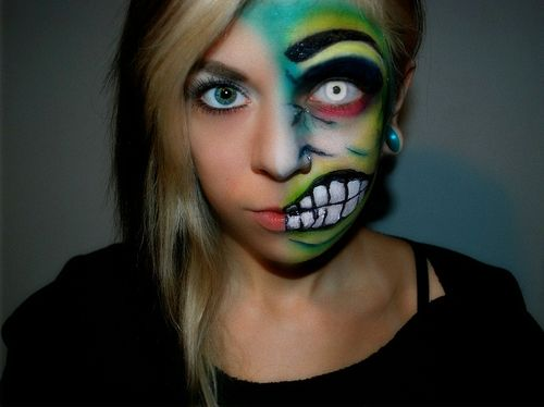 halloween eye makeup ideas face makeup special effect makeup halloween makeup scary - Scary Faces For Halloween With Makeup