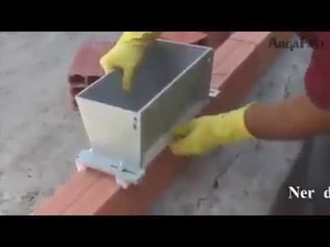 el mejor invento para los albañiles - YouTube