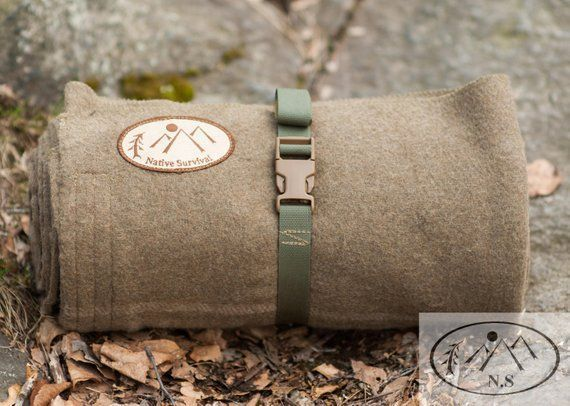 The Native Survival Wool Bedroll -Designed by Mitch ...