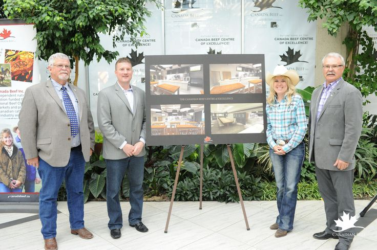 Plans for the Canadian Beef Centre of Excellence in Calgary, AB. #CdnBeefCentre