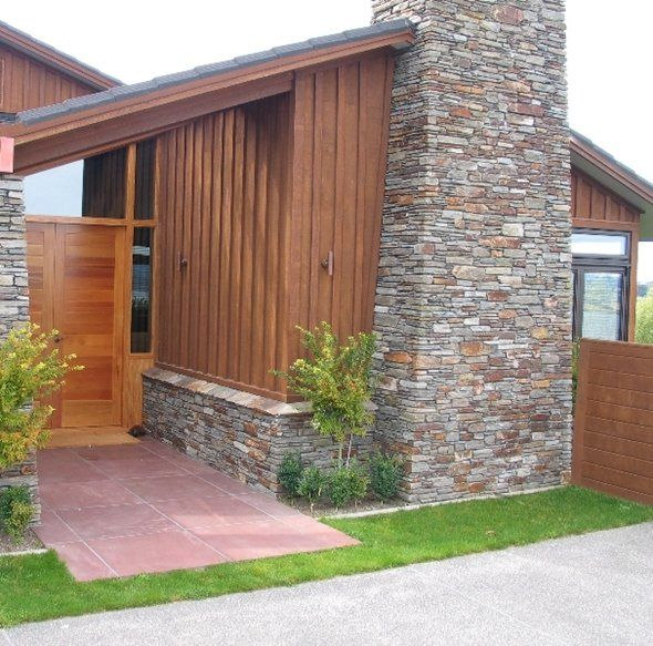 Exterior Aluminum Clad Plywood Panels : Chippys outdoor shadow clad weathertex decorative ply