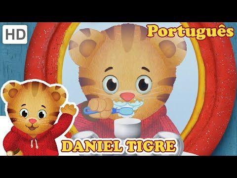 Daniel Tigre família Tintas de Banho Dora Daniel Tiger's Neighborhood Family Bath Paint Bath Time - YouTube