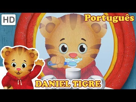 Daniel Tigre família Tintas de Banho Dora Daniel Tiger's Neighborhood Family Bath Paint Bath Time - YouTube