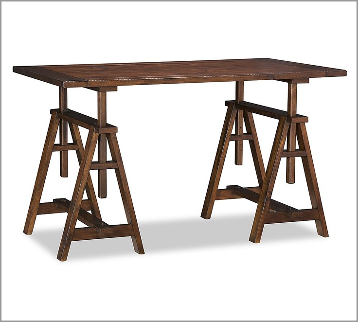 14 best pedestal and table bases images on pinterest for Pottery barn printer s desk reviews