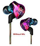 Joyeer Armature Dual Driver Super Treble Middle Bass Earphone Detachable Cable In-Ear Audio Monitors Headphone Noise Isolating HiFi Music Sports Earbuds  A