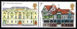 Great Britain #741a Stamps - European Architecture Setenent - EU GB 741a-1 MNH